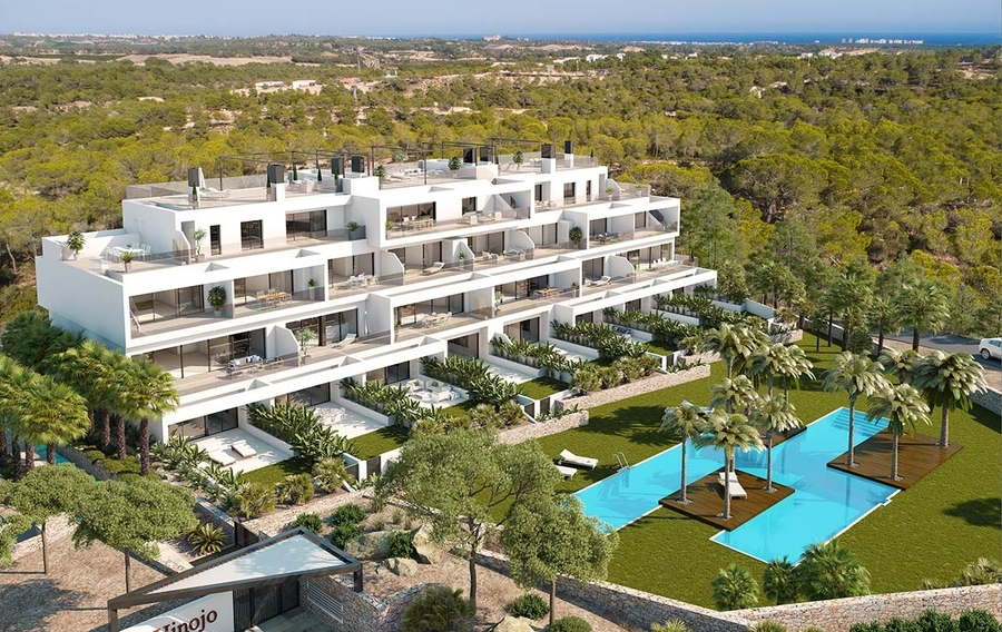 Your Move Spain Hinojo Apartments For Sale on Las Colinas Golf Resort