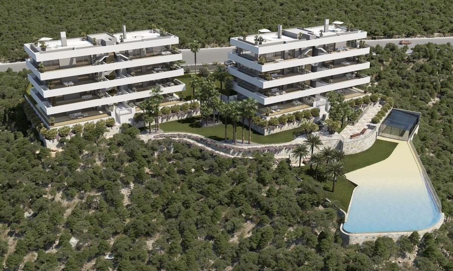 Your Move Spain - New Build Apartments In Las Colinas Golf