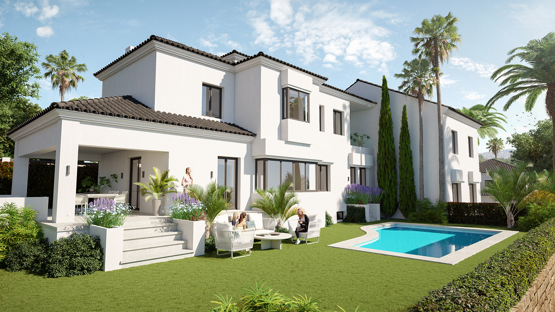 Your Move Spain New Heaven Marbella Villas Elviria For Sale