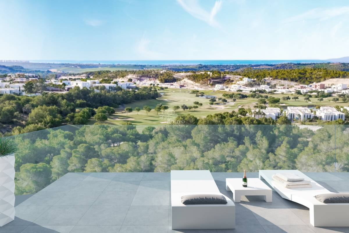 New Build Apartments For Sale In Las Colinas Golf