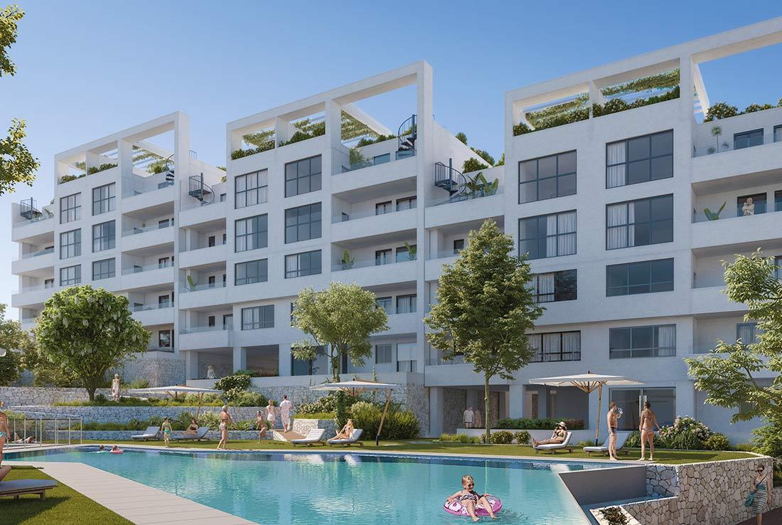 Estepona Gardens Apartments for sale